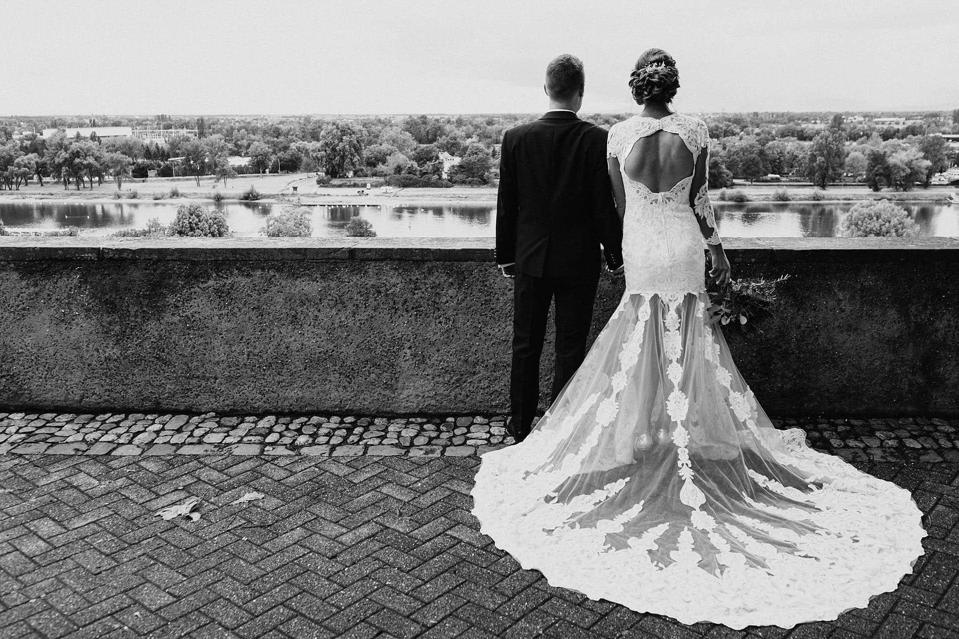 Hochzeitsshoot bei der Hochzeit in Oberbergen.