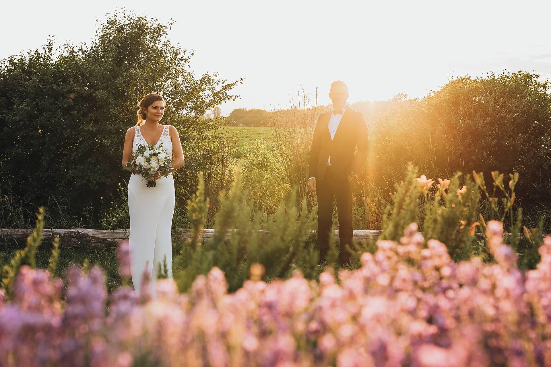 Hochzeitsbilder mit dem Brautpaar.